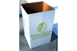Disposable Trash Boxes Event Solutions Lafayette La