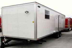 decon trailers
