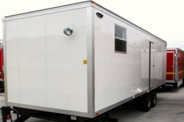 decon trailers rentals