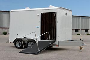 emergency shower trailers