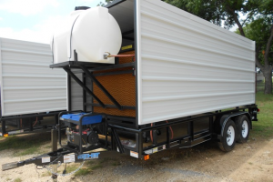 Cooling trailers
